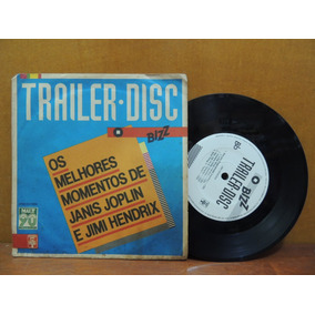 Disco Compacto Vinil Compacto Janis Joplin Jimi Hendrix