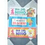 Antiguos Afiches No Cartel Dia Del Niño Juguete A Eleccion