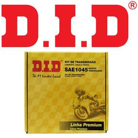 Kit Transmissão D.i.d Aço1045 C100 Dream 92-98