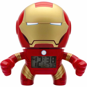 Bulb Botz De Lego Marvel Ironman Despertador 19cm Diego Vez