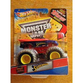 Hot Wheels Monster Jam Superman Llantas Con Lodo Topps 2010