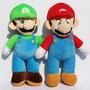 Mario Bros Peluche Luigui