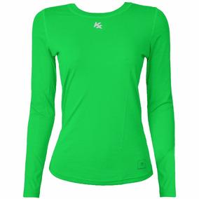 Camisa Térmica Feminina Manga Longa Kanxa C/ Proteção Solar