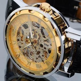 Reloj Clásico Varios Colores Malla Cuero A Cuerda, Hermosos