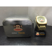 Reloj De Pulso Extensible Verde Paul Frank Julius & Friends
