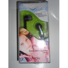 Audífonos Canyon Estéreo 1.5mm Modelo Cnr-ep