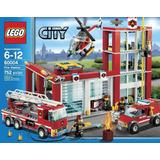Lego City Estacion De Bomberos Grande