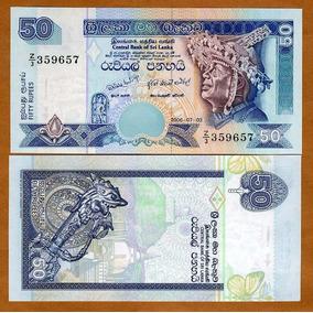 Sri Lanka Billete De 50 Rupias Año 2006 Sin Circular
