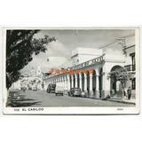 Antigua Postal Automoviles El Cabildo San Salvador De Jujuy