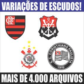 Imagens Vetores De Escudos Times De Futebol Clubes + Brindes