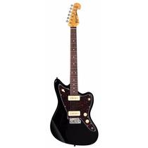 Guitarra Tagima Tw-61 Woodstock Estilo Jaguar Preto