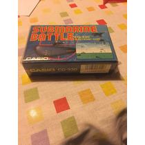 Lote Juegos Casio Submarine Battlle Y Western Sheriff