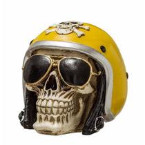 Crânio Caveira Motoqueiro Fantasma Capacete Motociclista