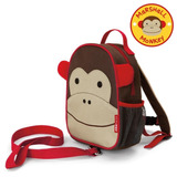 Mochila Infantil Com Guia Zoo Macaco Skip Hop Monkey