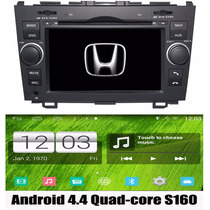 Kit Central Multimidia Dvd Gps Android Honda Crv Quad Core