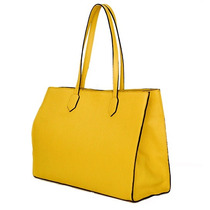 Cartera Bolso Cuero Vacuno Amarilla Mujer Amy Mulen Shoes