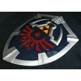 Escudo Link Hylian Zelda Twilight Master Metal Poliresina