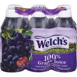 De Welch Sola Porción 100% De Jugo De Uva 6 Ct / 60 Fl Oz