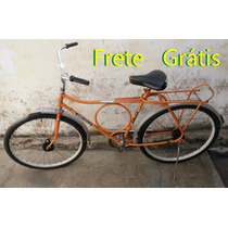 Bicicleta Monark Barra Circula 1980 Original Frete Grátis