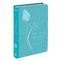 Biblia Sagrada Ella De Estudo Conciso - Capa Luxo Turquesa