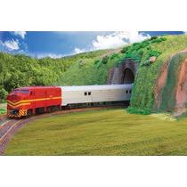 Trem De Passageiros Rffsa 6505 Frateschi Elétrico Ho 1:87