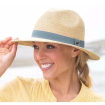 Sombrero Bahama Tipo Fedora Con Protección Solar Upf 50+