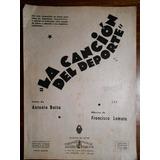 La Cancion Del Deporte Partitura Y Letra Para Piano Y Voz