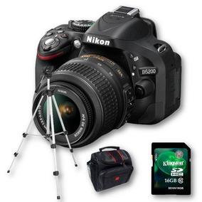 Nikon D5200 Kit 18-55mm+ Sd 16gb C10+ Bolso+ Trípode!!!!!!!!