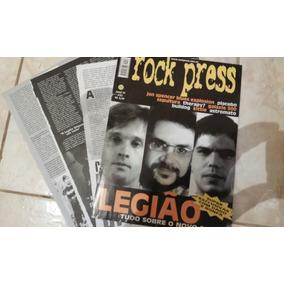 Lote C/ 5 Matérias De Jornais/revistas Legião Urbana
