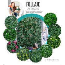 Decoración Follaje Artificial Muro Verde Plantas Artificiale