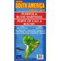 Mapa De Puertos Y Rutas Maritimas Del Sur De Sudamerica