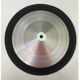 Cone Alto Falante 12pol Aluminio Borda Tecido Medio Frizado