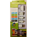 Cable Usb 5 En 1, Iphone, Samsung, Blackberry, Tablets, Etc