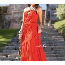 Lindo Vestido Feminino Tomara Que Caia Longuete