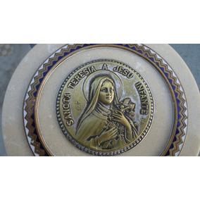 Antigo Aplique De Mesa Santa Terezinha Do Menino Jesus