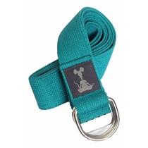 Cinturón P Yoga C/ Anillo En * D * V/colores D Yogarat 2.4m