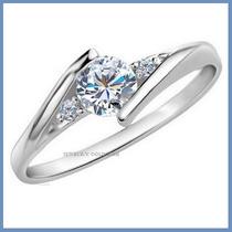 Anillo De Compromiso Diamante Natural .20ct Oro 14k -50% 031
