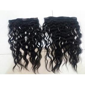 Mega Hair Humano Na Tela