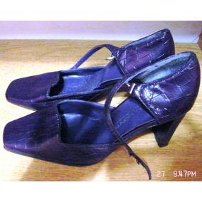 Zapatos Nº37 Violeta Oscuros