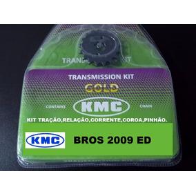 Kit Relação Completa Nxr 150 Bross Com Retentor Kmc100%