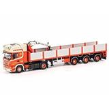 Scania R Topline 4x2 Reboque De Pedras 3 Eixos 1:50 Wsi
