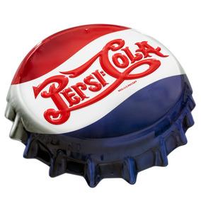 Pepsi Cola Poster Metalico Vintage Retro Antiguo Corcholata