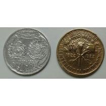 Moedas De 1000 E 2 Mil Réis Centenário Da Independência
