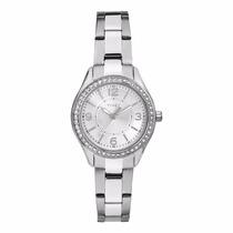Reloj Timex Tw2p79800 Plateado Para Dama