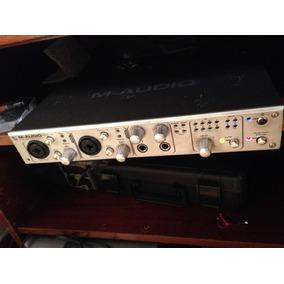 Placa De Som Profissional Firewire 1814 M Audio