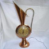 Reloj Jender Vasija Cacharro Anfora Cobre Myt Antiguo