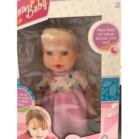 Boneca Bebê Nana Baby - Candide