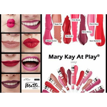 Labiales Líquidos Mate Mary Kay At Play Originales