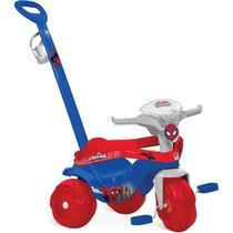 Triciclo Homem-aranha Motoban Passeio Azul Bandeirante