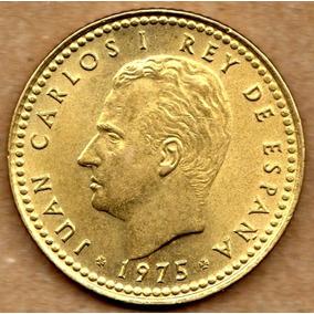 España 1 Peseta 1975 - Rey Juan Carlos I - Sin Circular - Bu